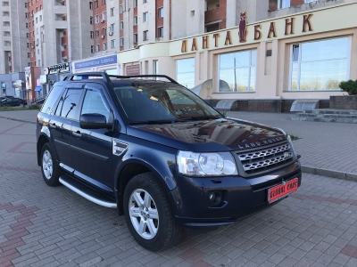 Land Rover Freelander 2 2.2d 4WD дизель 2012 Automatic